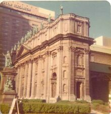Vintage Photograph Mary Queen of the World Cathedral Montreal Canada 1975