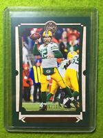 AARON RODGERS CARD JERSEY#12 GREEN BAY PACKERS SP #/100 GREEN 2019 Panini Legacy