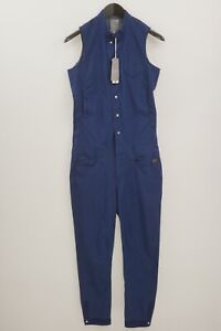 Woman G-star New Radar Suit Blue Jumpsuit Overall Dungaree S XMT993