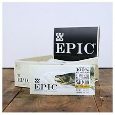 Epic SMOKED SALMON MAPLE Protein Jerky Bar - BOX OF 12 BARS