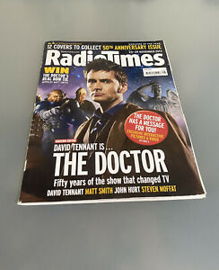 Radio Times November 2013 - Doctor Who: Day Of The Doctor Featured