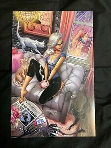 Black Cat # 1 Virgin Variant , LTD, NM , J. Scott Campbell , Rare ! HOT !!