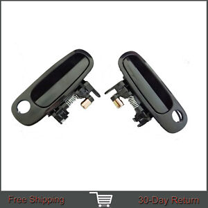 Fit Toyota Corolla Chevy Prizm Outside Front Left Right Side Door Handle 98-02