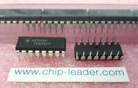 5x Motorola MC10116P , IC, Line Receiver, 1 Func, 3 Rcvr, ECL, PDIP-16