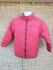 5da4e1a3c793 Nike Swoosh Red Full Zip Puffer Jacket Coat Men s Size medium