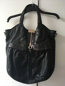 Jimmy Choo Tote Bag By H&M Black Snake