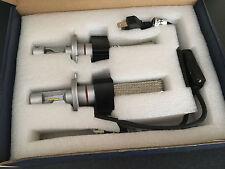 H4 9003 HB2 PHILIPS  LED Headlight Bulb Kits Driving Globes Copper Braid