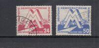 DDR Mi-Nr. 282-283 gestempelt mit Gefälligkeitsstempel
