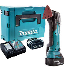 Makita DTM51Z 18V Multi Tool Cutter with 2 x 5.0Ah Batteries & Charger in Case