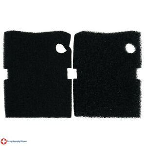 RA Black Foam Filter Pads for Professional 450/600 - 2 pk