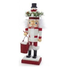 Kurt Adler Hollywood Snowman Hat Nutcracker Christmas Green Holiday HA0427 New