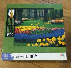 big ben 1000 piece jigsaw puzzle keukemhof gardens, Lisse, Netherlands