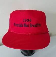Riverside Mini Grand Prix 1996 Embroidered  Racing Vintage Snapback Hat Cap