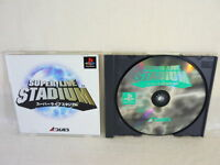 Playstation SUPER LIVE STADIUM PS1 Japan Video Game p1
