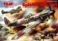 SPITFIRE LF Mk XVI E LATE (RAF & POLISH AF MARKINGS) #48071 1/48 ICM
