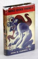 SIGNED FIRST EDITION JOHN W CAMPBELL 1948 WHO GOES THERE? SEVEN TALES OF SCI-FI