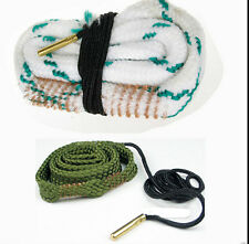Bore Snake for 380 9mm .38 357 & 12GA Caliber Gun/Rifle Cleaning Cleaner