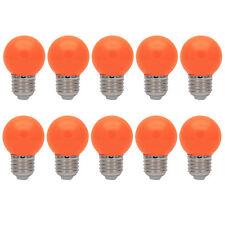 10er E27 Farbig Glühlampen Für Partybeleuchtung Biergartenbeleuchtung Orange