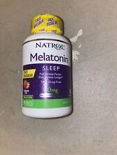 Natrol Melatonin Sleeping Tablets Strawberry Flavor 10mg -100 Tablets