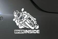 Motorrad Auto Aufkleber Biker Inside Sticker Motorsport tuning Fun JDM OEM