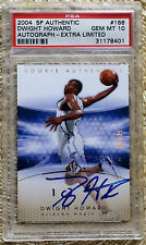 2004 SP AUTHENTIC EXTRA LIMITED AUTO /25 DWIGHT HOWARD PSA 10 CARDREGISTRY hof