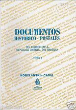 Documentos Historico - Postales: Del Correo en la Republica Oriental de Uruguay