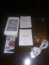 "Apple "" iPod Touch""  Empty box  w/ Inserts New charger no block"