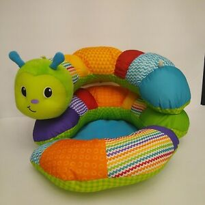 Infantino Prop-A-Pillar Tummy Time & Seated Support Caterpillar vibrant colors