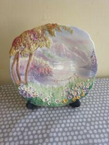 "Vintage Royal Winton Grimwades ""Lakeland"" Decorative Plate"
