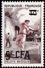 REUNION CFA 327 ** MNH Pelote basque chistera sport (CV 9 €)