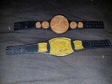 WWE SPINNER titolo mondiale + CINTURA TAG TEAM WWE Mattel di base