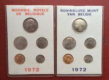 Belgique - Serie FDC 1972 FR + VL