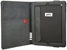 APPLE iPAD 2 / 3 / 4 FOLDER COVER CASE STAND FLIP FOLDER FAUX LEATHER FABRIC