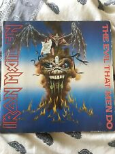 Iron Maiden-The Evil that Men do,1988,7 inch single + Pic Sleeve