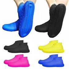 1Pair Waterproof Silicone Shoe Cover Reusable Unisex Rain Boots Shoes Rain