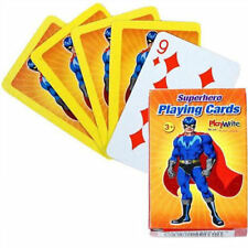 6 SUPER EROE Playing Card Set-Piccolo Loot / Party Bag Filler WEDDING