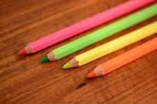 Caran d'Ache Maxi-Farbstift Fluo, 4 Neon-Farben