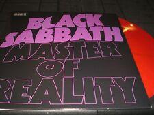 BLACK SABBATH Master of Reality LP unplayed  color vinyl