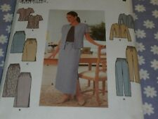 SIMPLICITY 9159 MISSES PANTS SKIRT & JACKET  PATTERN-UNCUT-SIZES 18-24
