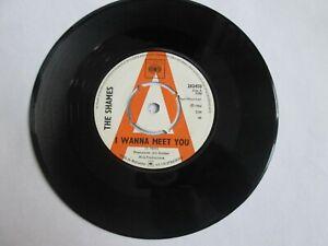 THE SHAMES -I WANNA MEET YOU rare UK 1966 DEMO PROMO / MOD / BEAT / DANCER / VG+