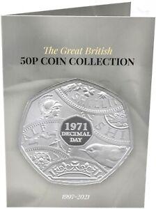 2021 50p Album Coin Collectors Beatrix Potter Kew TOKYO Rabbit UP TO DATE [C]