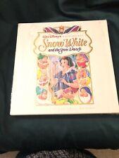 Disney Snow White and the Seven Dwarfs (1937) LaserDisc, Deluxe CAV Edition Box