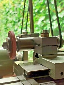 watchmakers lathe grinding / polishing attachment , boley , lorch , schaublin