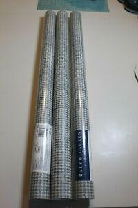 vintage ralph lauren wallpaper weave pattern double rolls