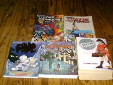 Bone vol.1 , La Perdida, Azu Manga Daioh, & Adventure Time TPB lot