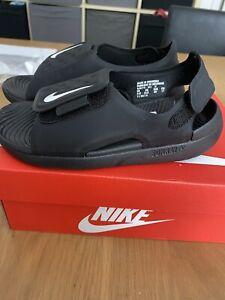 Nike Sunray Adjust Child's  Sandals Size UK 10.5 BRAND NEW