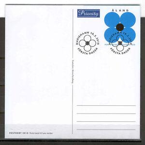 Aland Isl 114 Stationary 2010 Flower (blue)