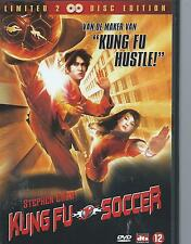 DOUBLE / 2 DVD - KUNG FU SOCCER SPECIAL EDITION - ENGL  - NL region 2
