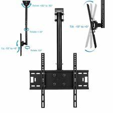 LED LCD TV Ceiling Mount Bracket Tilt Swivel 30 32 37 40 47 50 51 52 55 56 60 in