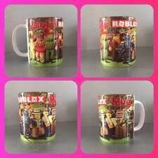 personalised mug cup roblox game gamer playstation x box like minecraft lego